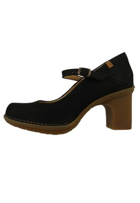 El Naturalista N5402 Dovela Damen Leder Pumps Leather Pleasant Black Schwarz – Bild 2