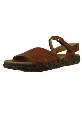 El Naturalista N5501 Women's Leather Sandal Leather Soft Grain Cuero Brown – Bild 2