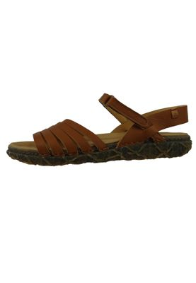 El Naturalista N5501 Women's Leather Sandal Leather Soft Grain Cuero Brown – Bild 3
