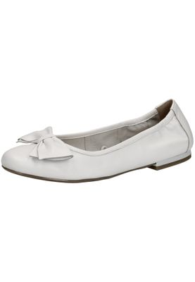 Caprice 9-22100-22 022 Damen White Nappa Weiß Ballerina Leder – Bild 1