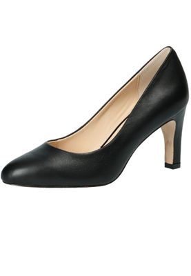 Caprice 9-22400-22 022 Damen Leder Black Schwarz High-Heel Pumps – Bild 1