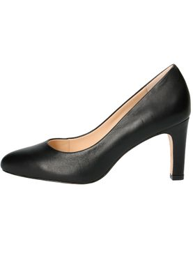 Caprice 9-22400-22 022 Damen Leder Black Schwarz High-Heel Pumps – Bild 3