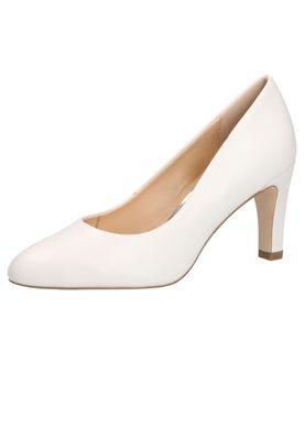 Caprice 9-22400-22 102 Damen Leder White Nappa Weiss High-Heel Pumps – Bild 1