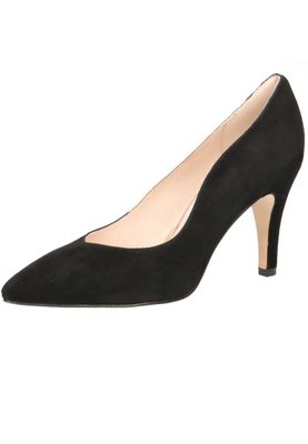 Caprice 9-22412-22 004 Damen Leder Black Suede Schwarz High-Heel Pumps – Bild 1