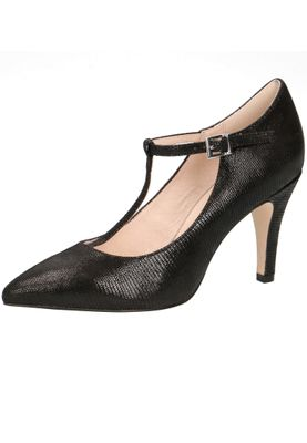 Caprice 9-24400-22 010 Damen Leder Black Schwarz High-Heel Sling Pumps – Bild 1