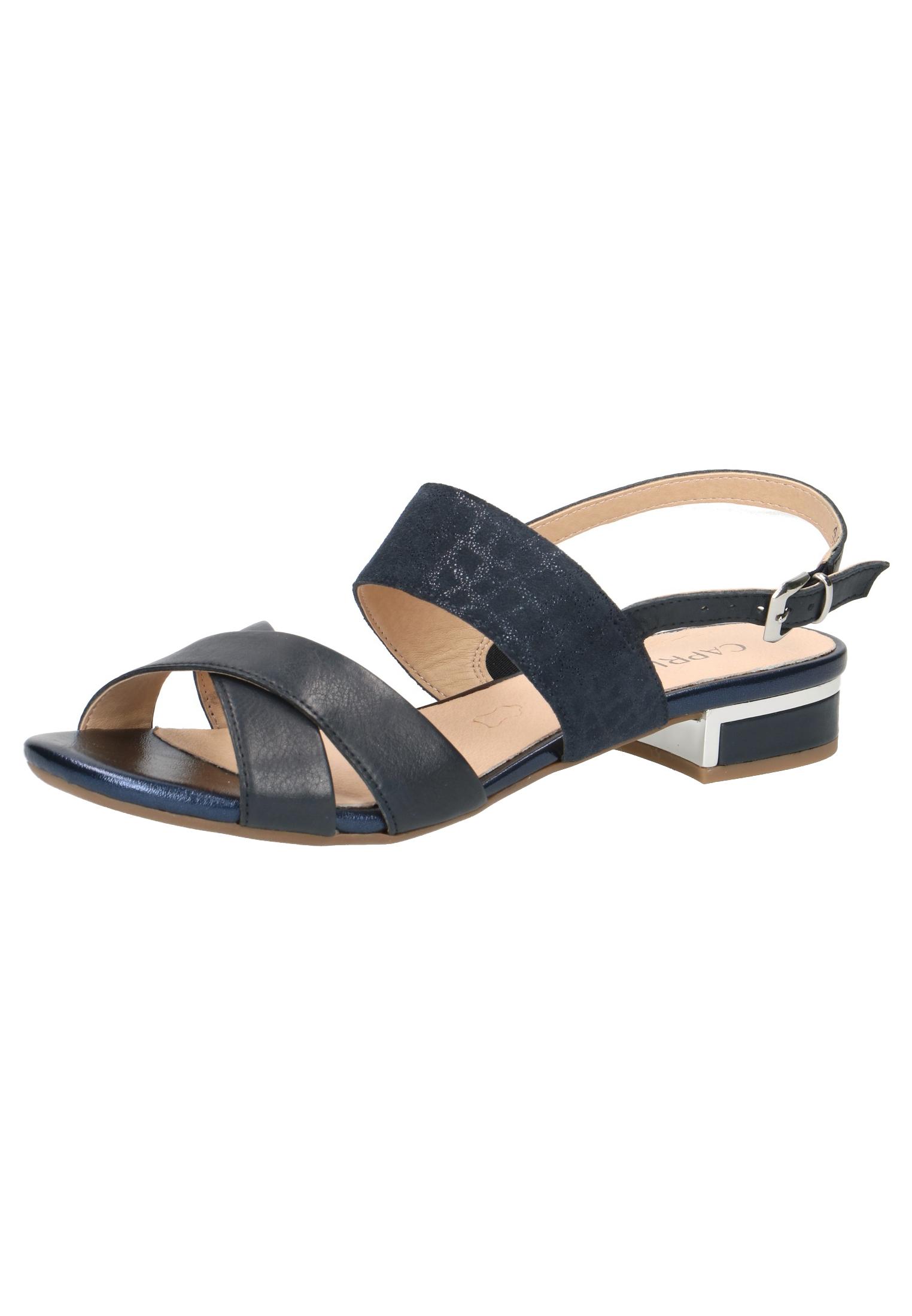 latest design thoughts on check out Caprice Damen Sandale Sandalette Blau 9-28143-22 880 Ocean Comb.