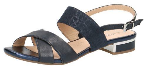 Caprice Damen Sandale Sandalette Blau 9-28143-22 880 Ocean Comb. – Bild 1