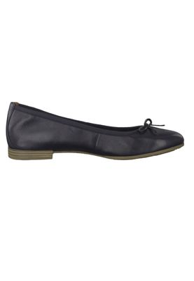 Tamaris 1-22116-22 805 Women's Navy Blue Leather Ballerina with TOUCH-IT Sole – Bild 2