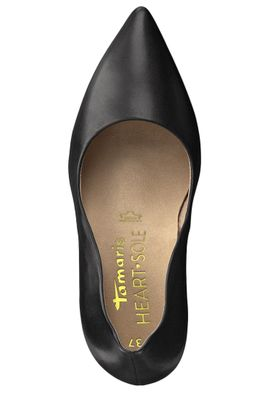 Tamaris 1-22400-22 001 Damen Black Schwarz High-Heel Pumps Heart & Sole – Bild 5
