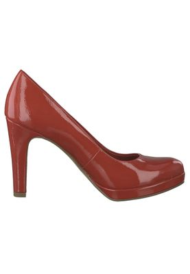 Tamaris 1-22426-22 520 Damen Chili Patent Rot Plateau Pumps High-Heel mit TOUCH-IT Sohle – Bild 2