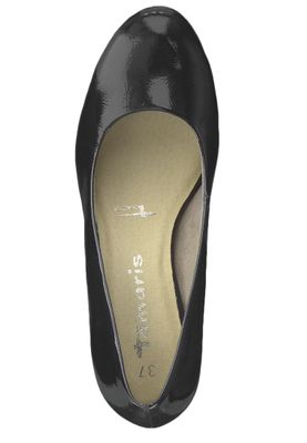 Tamaris 1-22444-22 018 Damen Black Patent Schwarz Pumps mit TOUCH-IT Sohle – Bild 5