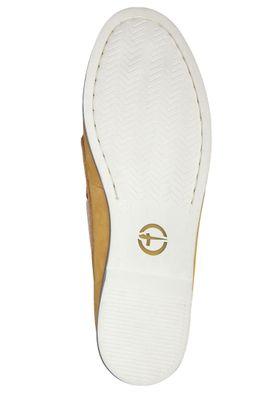 Tamaris 1-23616-22 604 Damen Sun Nubuc Gelb Leder Bootsschuh – Bild 4