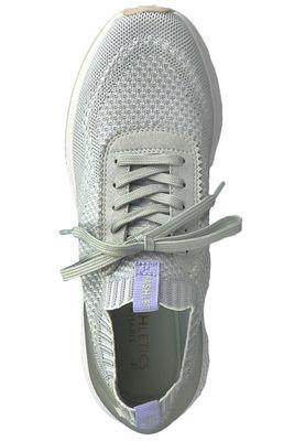 Tamaris 1-23714-22 204 Damen Light Grey Hellgrau Sneaker sportlicher Schnürschuh – Bild 5