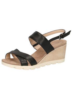 Caprice Women's Wedge Sandal Sandal Black 9-28316-22 022 Black Nappa – Bild 2