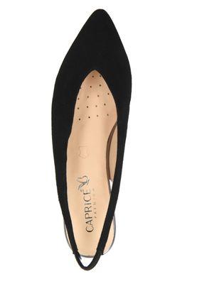 Caprice 9-24402-22 004 Women's Leather Black Black Sling Pumps – Bild 6