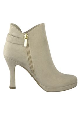 Tamaris 1-25306-32 400 Damen Beige Stiefelette High Heeled Ankle Boot mit TOUCH-IT Sohle – Bild 2