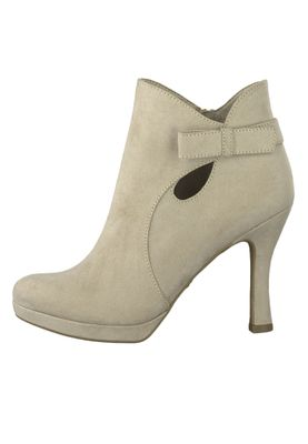 Tamaris 1-25306-32 400 Damen Beige Stiefelette High Heeled Ankle Boot mit TOUCH-IT Sohle – Bild 3