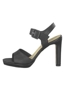 Tamaris 1-28000-22 001 Damen Black Schwarz Plateau Sandaletten Platform Sandals – Bild 3