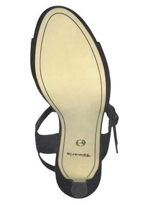 Tamaris 1-28000-22 001 Damen Black Schwarz Plateau Sandaletten Platform Sandals – Bild 4
