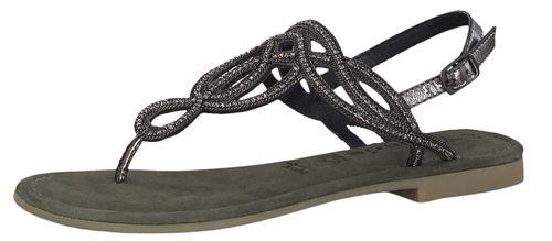 Tamaris 1-28115-22 884 Womens Blue Metallic Blue Roman Sandals Sandal with TOUCH-IT Sole – Bild 1