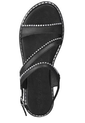 Tamaris 1-28123-22 001 Women's Black Black Roman Sandals Sandal with TOUCH-IT sole – Bild 6