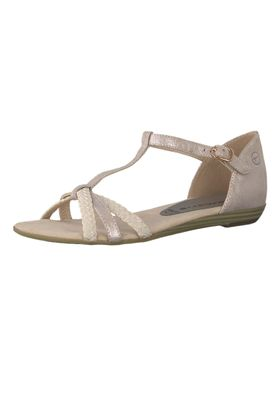 Tamaris 1-28137-22 521 Womens Rose Pink Roman Sandals Sandal – Bild 1