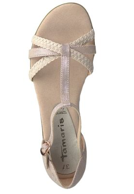 Tamaris 1-28137-22 521 Womens Rose Pink Roman Sandals Sandal – Bild 4