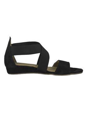 Tamaris 1-28138-22 001 Damen Black Schwarz Sandale Sandalette mit TOUCH-IT Sohle – Bild 2