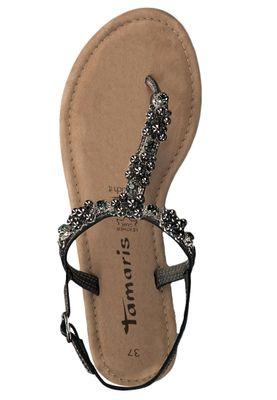 Tamaris 1-28152-22 915 Damen Pewter Grau Römer Sandaletten Sandale mit TOUCH-IT Sohle – Bild 5