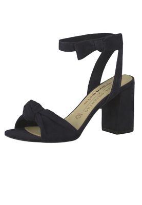 Tamaris 1-28308-22 805 Women's Navy Navy Sandals High Heel Sandal Peep Toe Pumps – Bild 2