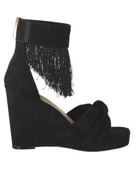 Tamaris 1-28311-22 001 Damen Black Schwarz Sandaletten High Heeled Ankle Cuff Sandale – Bild 2