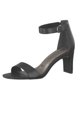 Tamaris 1-28345-22 001 Damen Black Schwarz Sandaletten Ankle Cuff Sandale mit TOUCH-IT Sohle – Bild 1