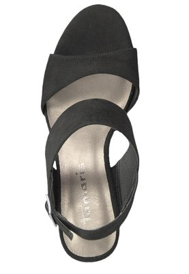 Tamaris 1-28354-22 001 Women's Black Black High Heeled Sandals Sandals – Bild 5