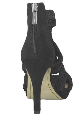 Tamaris 1-28355-22 001 Damen Black Schwarz Sandaletten High Heeled Sandale – Bild 2