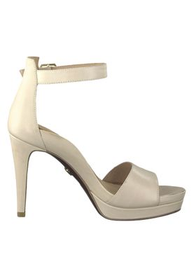 Tamaris 1-28377-22 550 Damen Powder Leather Creme Beige Plateau Sandaletten Platform Sandals Heart & Sole – Bild 2