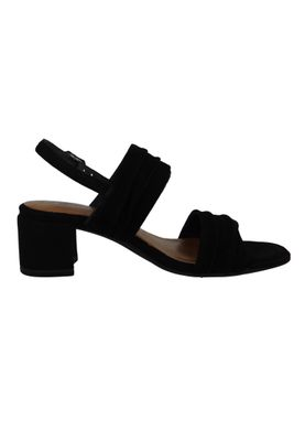 Tamaris 1-28386-22 004 Womens Black Suede Black Sandal Sandal with TOUCH-IT Sole – Bild 4