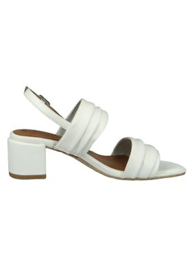 Tamaris 1-28386-22 117 Damen White Leather Weiss Sandale Sandalette mit TOUCH-IT Sohle – Bild 4