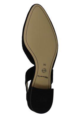 Tamaris 1-29401-22 001 Damen Black Schwarz Mary Jane Slingback Pumps mit TOUCH-IT Sohle – Bild 6
