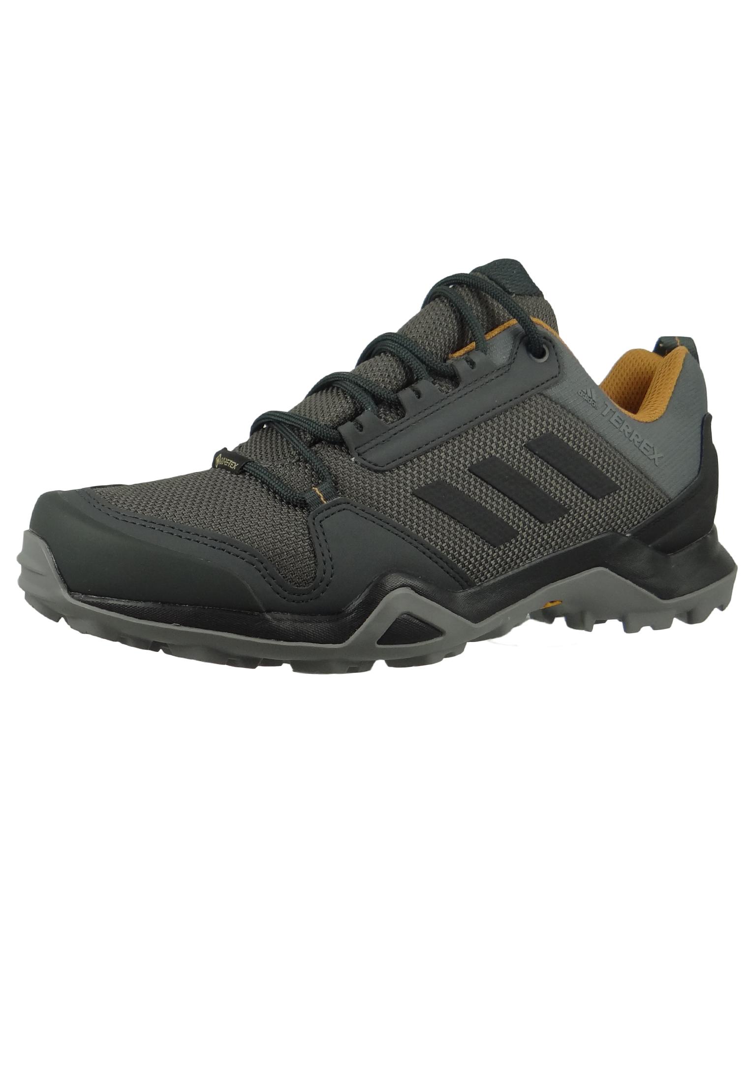 adidas TERREX AX3 GTX BC0517 Herren Hiking Outdoorschuhe grey fivecore blackmesa Grau