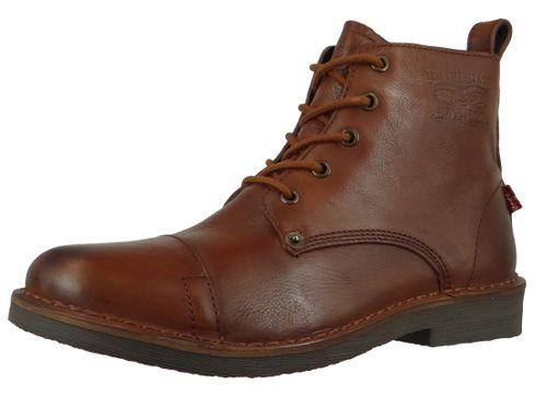 Levis Track 228755-710-27 Herren Ankle Boots Stiefelette Medium Brown Braun