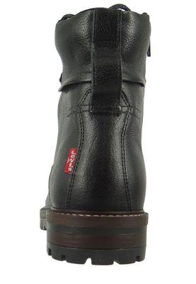 Levis LLOYD 230694-1933-59 Herren Walking Boots Stiefelette Regular Black Schwarz – Bild 3