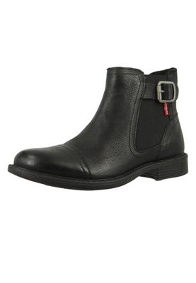 Levis Maine W Chelsea 230678-872-59 Damen Ankle Boot Stiefelette Regular Black Schwarz – Bild 2