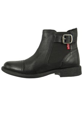 Levis Maine W Chelsea 230678-872-59 Damen Ankle Boot Stiefelette Regular Black Schwarz – Bild 3