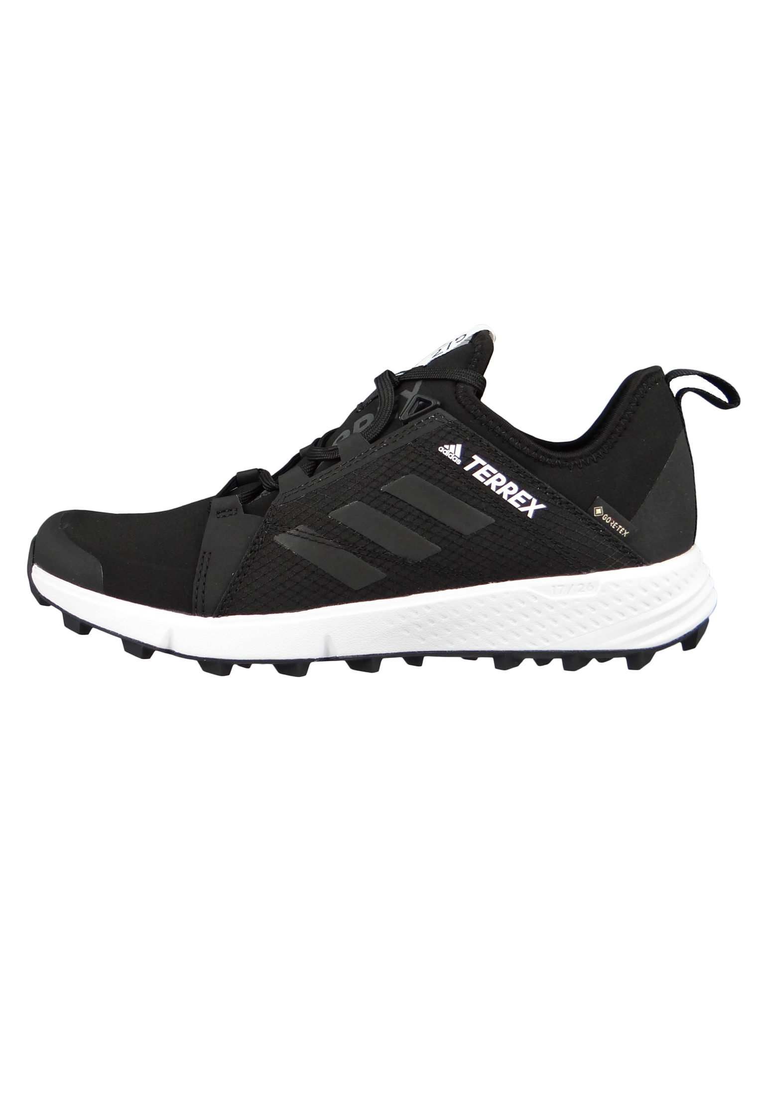 adidas TERREX AGRAVIC SPEED GTX CM8569 Herren Outdoor Trailrunning core blackcore blackftwr white Schwarz