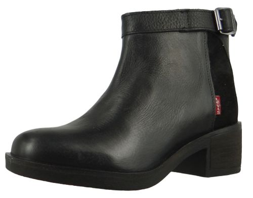 Levis Meiss 230684-1700-59 Damen Ankle Boot Stiefelette Regular Black Schwarz – Bild 1