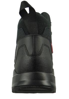 adidas TERREX HERON MID CW CP AC7841 Herren Winterstiefel Boots core black/core black/grey four F17 Schwarz – Bild 3