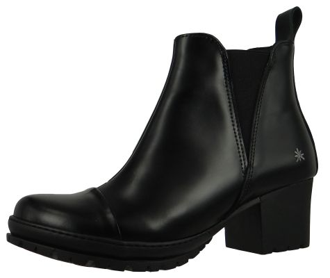 Art Leather Ankle Boots Ankle Boot Antibes Black Black 1423 – Bild 1
