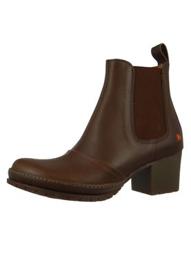 Art Damen Leder Stiefelette Ankle Boot Camden Brown Braun 1235 – Bild 2