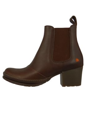 Art Damen Leder Stiefelette Ankle Boot Camden Brown Braun 1235 – Bild 3
