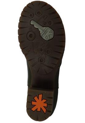 Art Damen Leder Stiefelette Ankle Boot Camden Kaki Grün 1235 – Bild 6